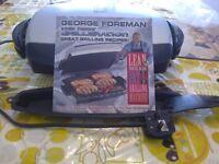 George Foreman grill machine