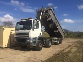 Daf cf85 8x4 Tipper 2007 aircon 1 owner nice lorry