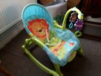 Fisher price baby to toddler swing