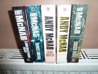 Andy McNab books mixed condition