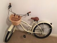 Brand New Retro Beach Cruiser Adult Bicycle (with basket!)