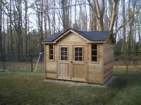 Custom Garden Sheds - Don't Overpay for a Premium Building