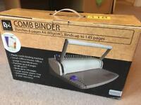 Comb binder A4