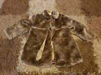 Girls winter coat age 2-3 years