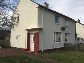 2 bedroom semi detached house for rent in Bannockburn with large drive