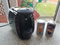 Bosch Tassimo drinks machine - hardly used + 2 boxes of drink