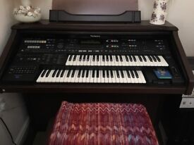 Technics electric organ, GN series PCM sound