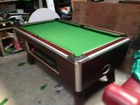 Pool table 6x3 slate bed