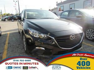 2015 Mazda MAZDA3 GX | GET PRE-APPROVED TODAY | THELOANAPPROVER.