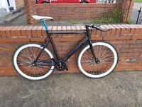 Custom fixie - Aventon frame - Espresso wheelsets...