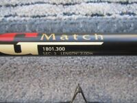Shakespeare MG Match Fising Rod 3.00m -