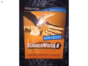 SCIENCE WORLD 8 or any school curriculum text books wanted asap. Banksia Park Tea Tree Gully Area Preview