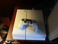 Sony PlayStation 4 white £200 onro