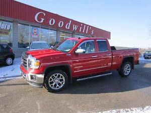 2014 GMC Sierra 1500 SLT! HEATED & COOLED LEATHER!