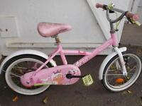 velo pour enfants fille couleur rose