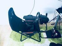 Logitech G27 wheel+pedals+shifter