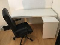Computer Desk and Chair For Sale