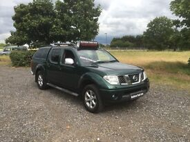 NISSAN NAVARA 2.5 dCi Aventura Double Cab Pickup 4dr (green) 2008