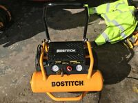 Bostitch compressor HP2.5 Lt 20 240v mobile.