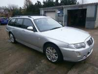 ** NEWTON CARS ** 05 55 ROVER 75 2.0 CDTI CONTEMPORARY SE AUTO TOURER, ATI, ALLOYS, MOT SEPT 2018