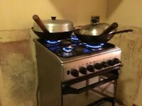 60cm Index dual dual freestand cooker