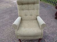 Single fabric Armchair Delivery Available