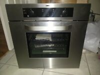 Zanussi stailess steel single digital oven