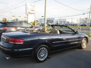2004 Chrysler Sebring  LXi CUIR  152000 mil  A1 DECAPOTABLE