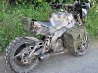 yamaha fzr 600 one off all terrain custom