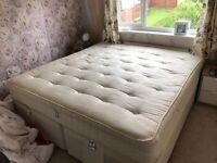 Super King size divan bed including matress