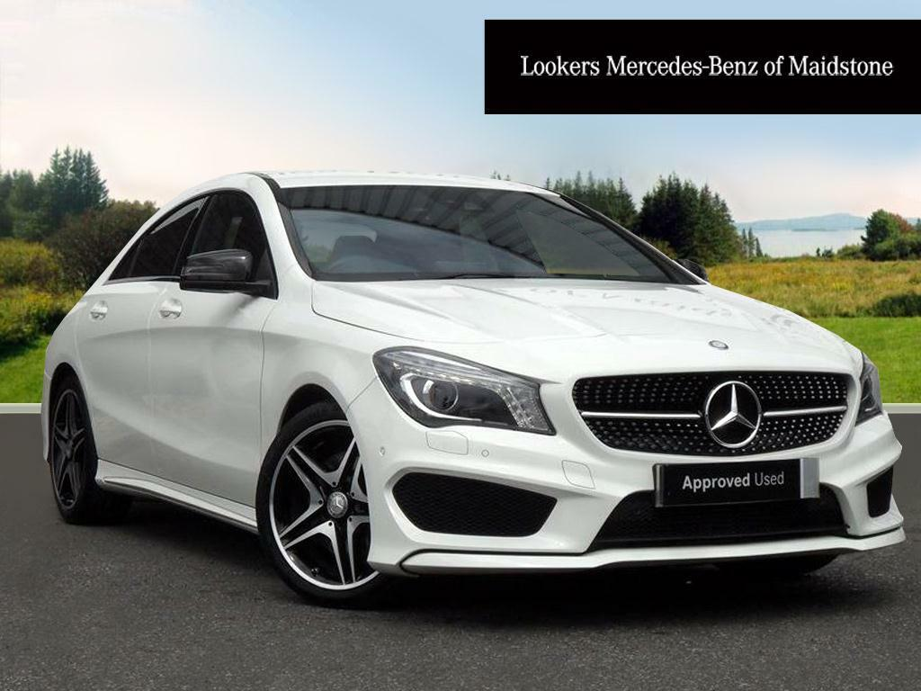 mercedes benz cla cla 220 d amg line white 2016 02 19 in maidstone kent gumtree. Black Bedroom Furniture Sets. Home Design Ideas