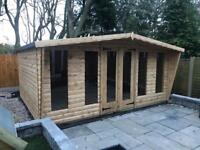16x8 log cabin.limited stock left