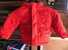 Child's (12-18 months) hooded coat (money going to charity)