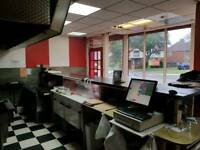 Take away and cafe shop for sale