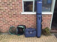 Shakespeare SIGMA luggage, keep Net and landing Net