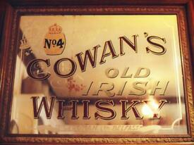WANTED : Antique pub mirrors and enamel signs