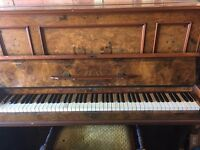 Upright piano – free to a good home!