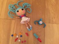 Lalaloopsy Marina Anchors Doll and her pet whale