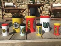 Seven habitat Freda storage jars