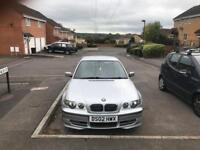 Bmw 325Ti For Sale NOW REDUCED TO £1100 Due to time wasters! For quick sale!!