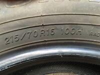 215/70 R16 100H Yokohama Geolandar Tyre