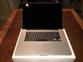 """MacBook Pro retina 15"""" mint - 16gb/512gb SSD"""