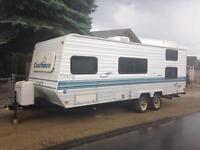 24 ft travel trailer with bunks