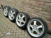 "Alloy wheels 17"", 4 stud multi fit"