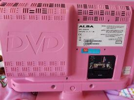 Pink flat screen TV
