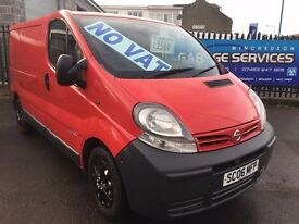 2006 NISSAN PRIMASTAR GREAT CONDITION YEARS MOT NEW CLUTCH* FULLY SERVICED TIMING BELT KIT VIVARO