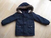 M&S Winter Coat - 3-4 years