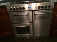 Belling 90cm Stainless Steel Range Cooker for sale