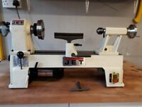 Jet 10141 Mini Lathe with Clubman SK100 Chuck