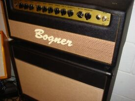 Bogner Shiva EL34 head with two 1x12 cabs. Immaculate condition.